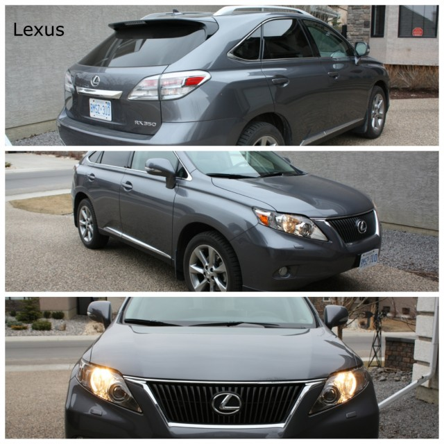 Comparo 2012 Lexus RX 350 Vs 2012 Cadillac SRX Review