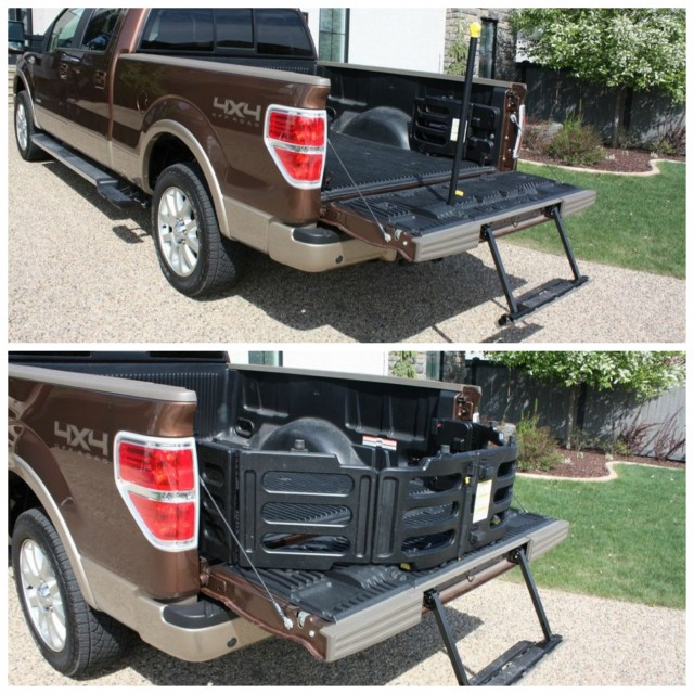 bed extender f150. high capacity loading ramp u0026 truck bed