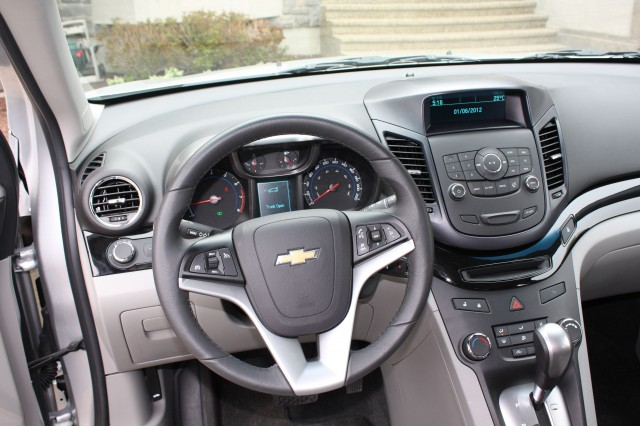 2012 Chevrolet Orlando LTZ Exterior and Interior at 2012 Montreal ...