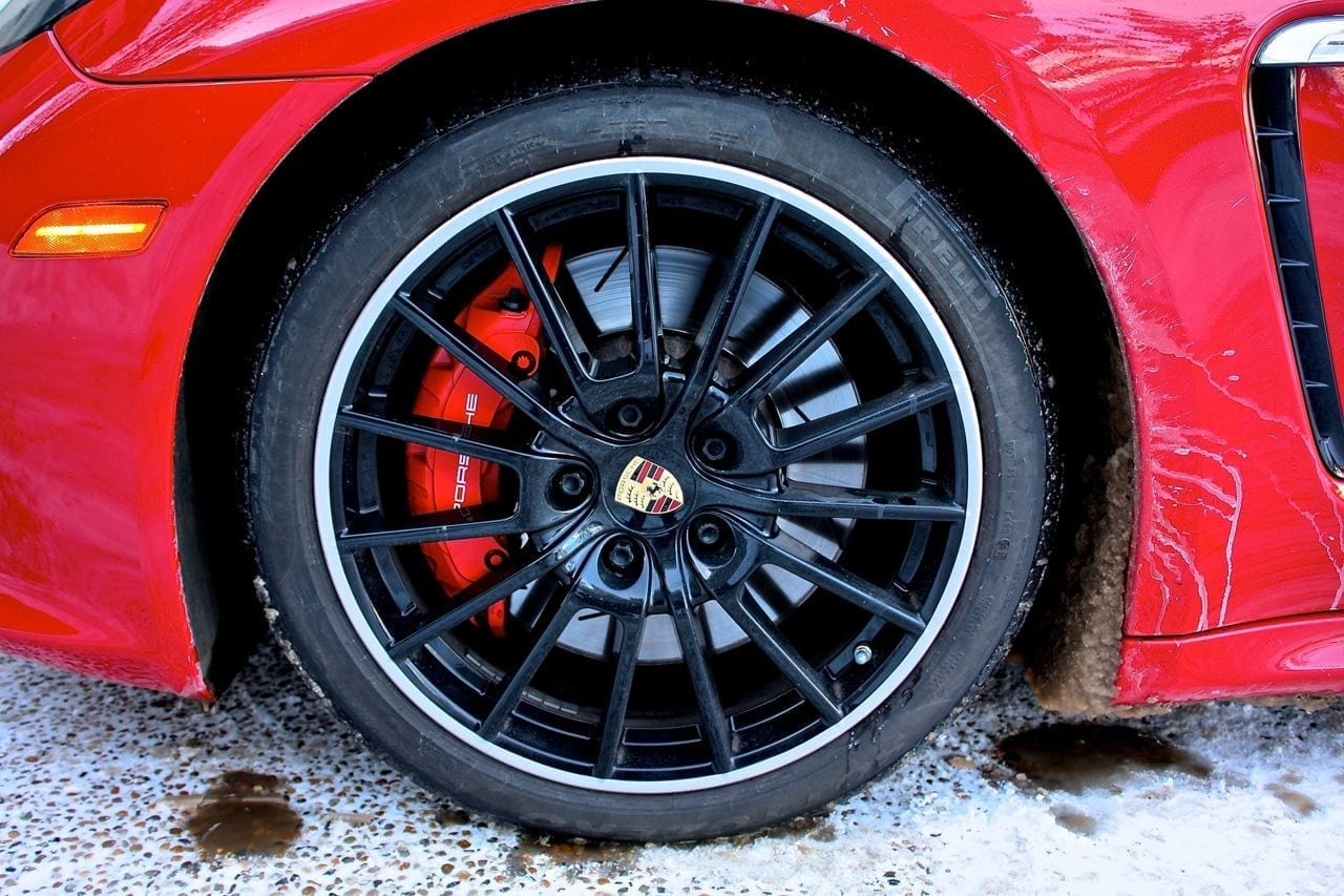 wheel close-up