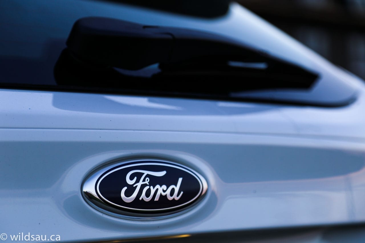 Ford rear badge