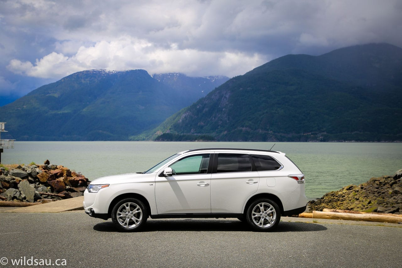 2014 Mitsubishi Outlander Drive Event Vancouver Review