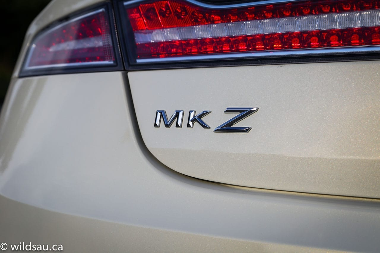 MKZ badge white