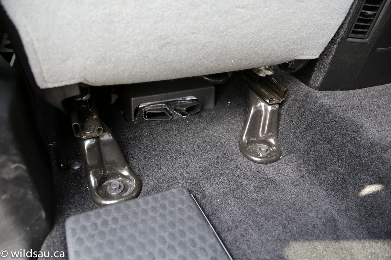 Ram visible seat anchors-ducts