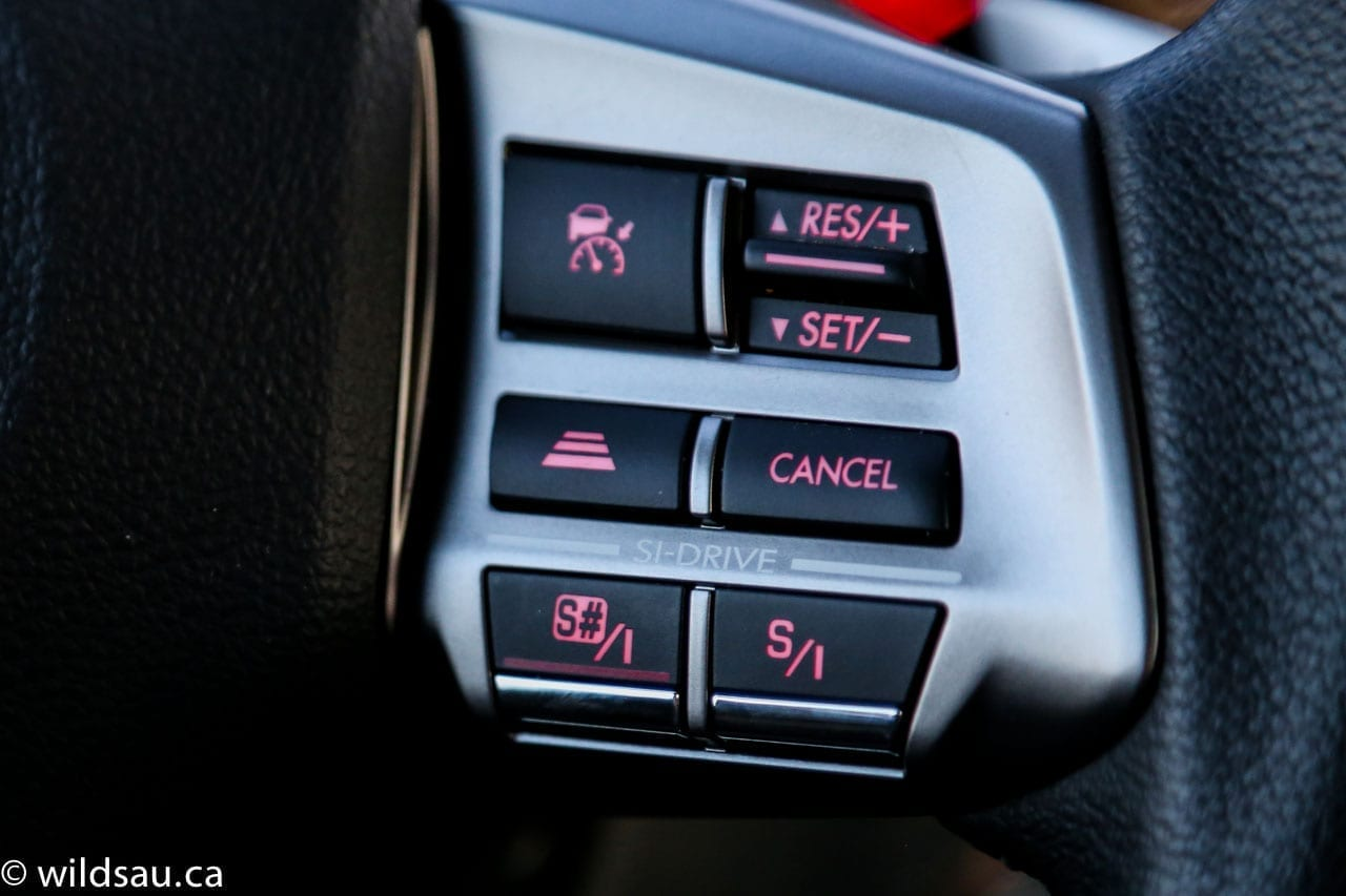SI drive buttons
