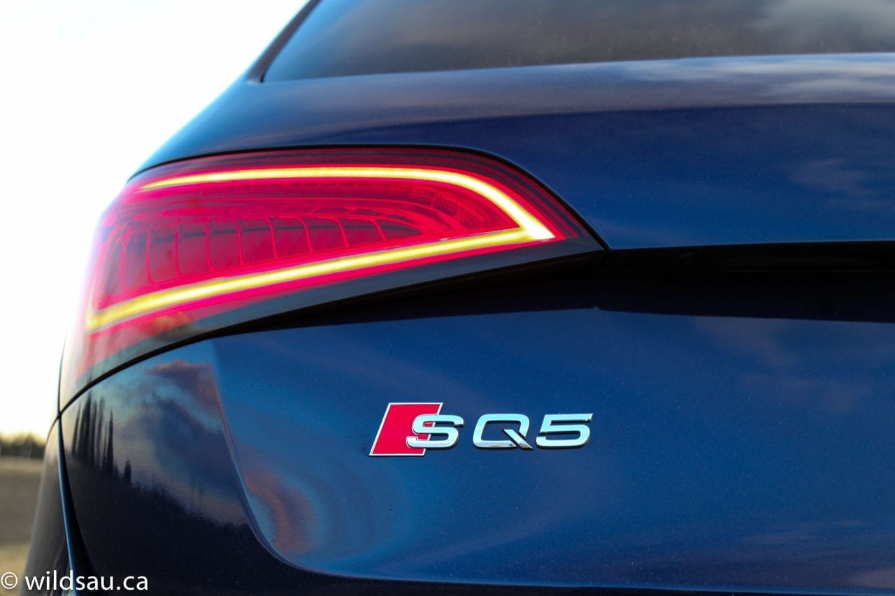 SQ5 rear badge