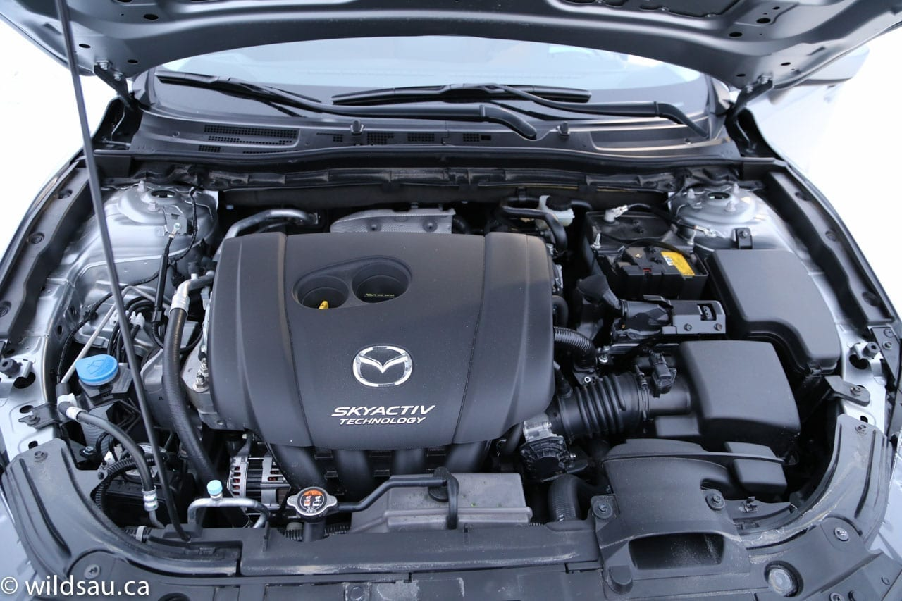 how to clean mazda 3 engine bay