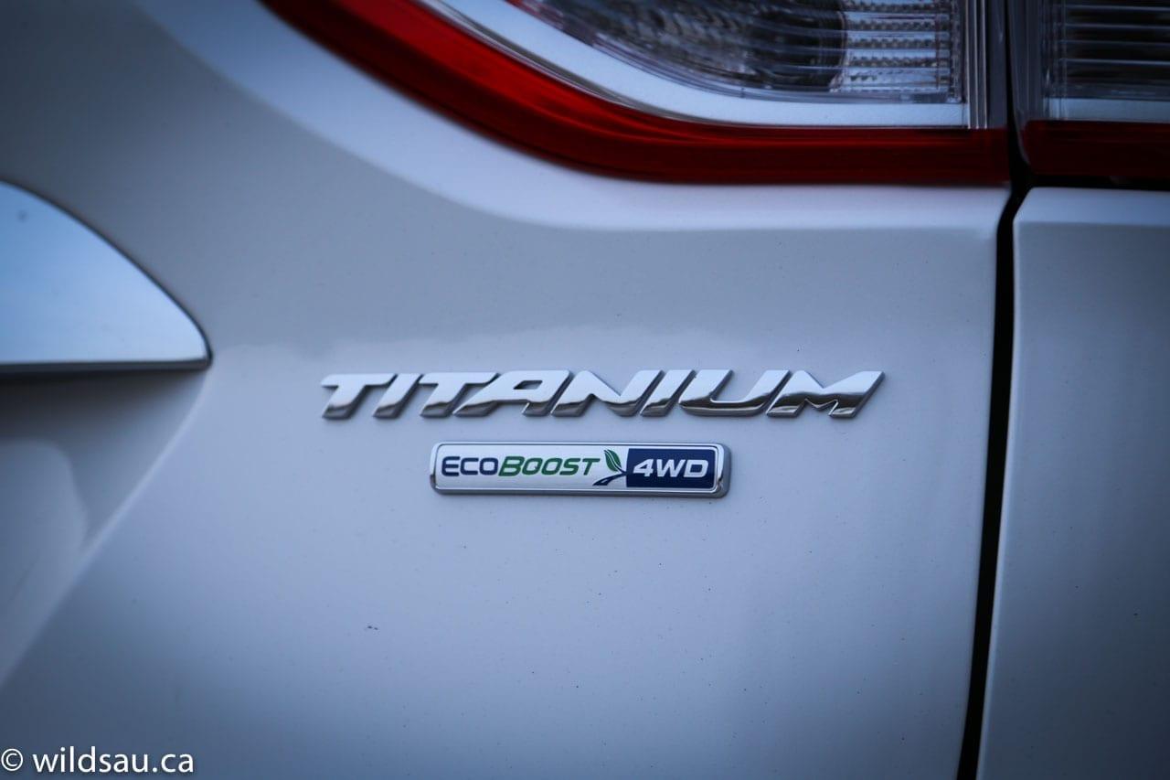 Titanium EcoBoost badge