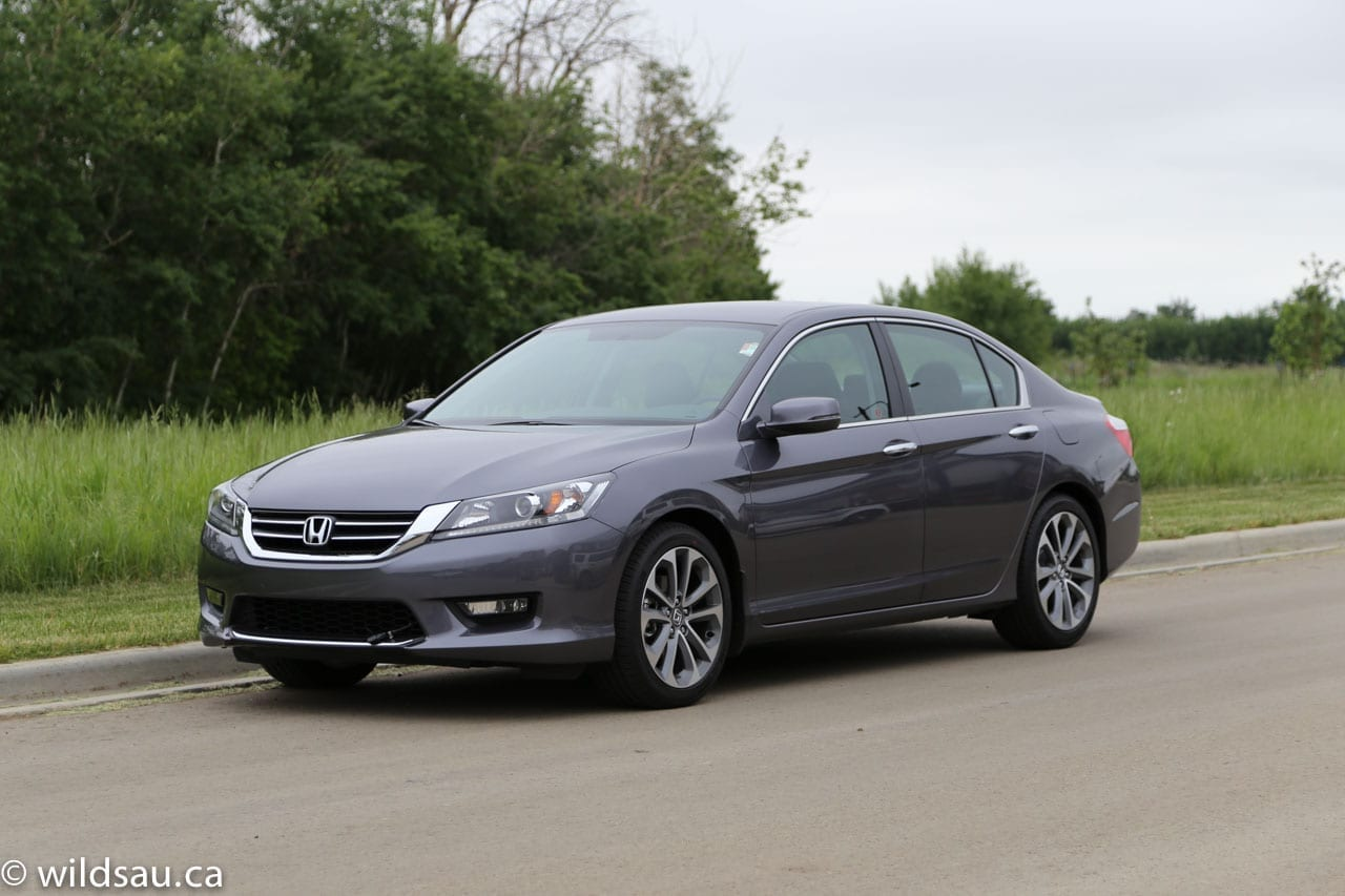 Review 2014 honda accord sport wildsau for Honda accord sport price