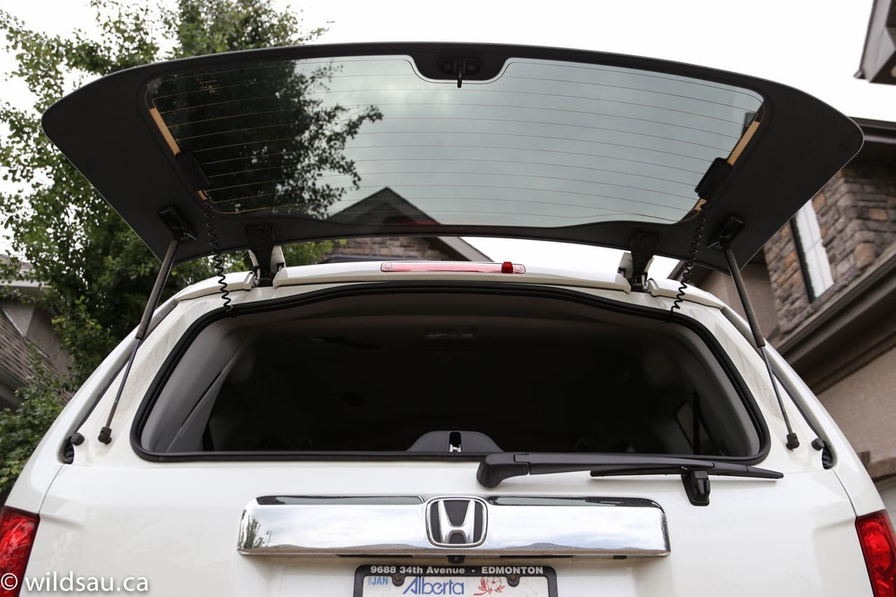rear glass open