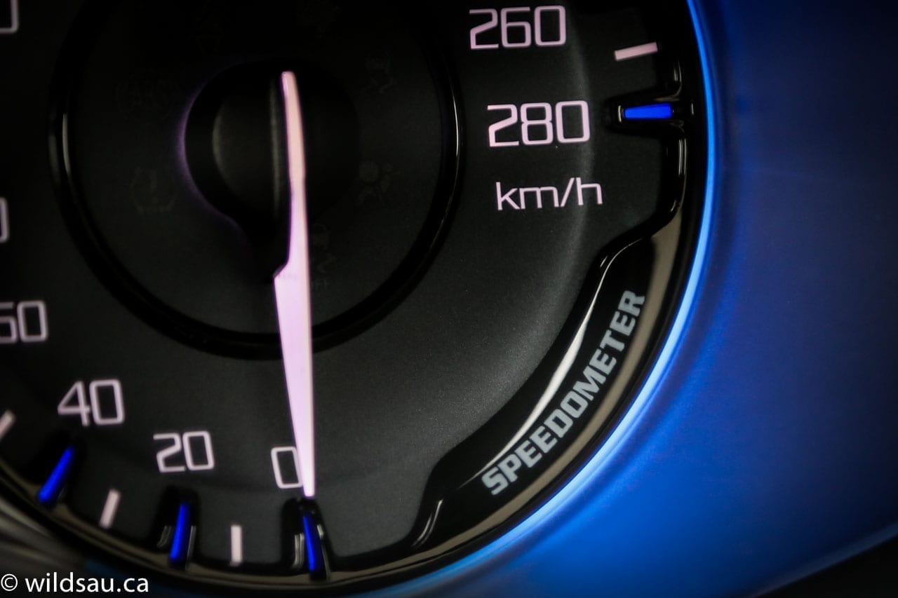 speedometer label