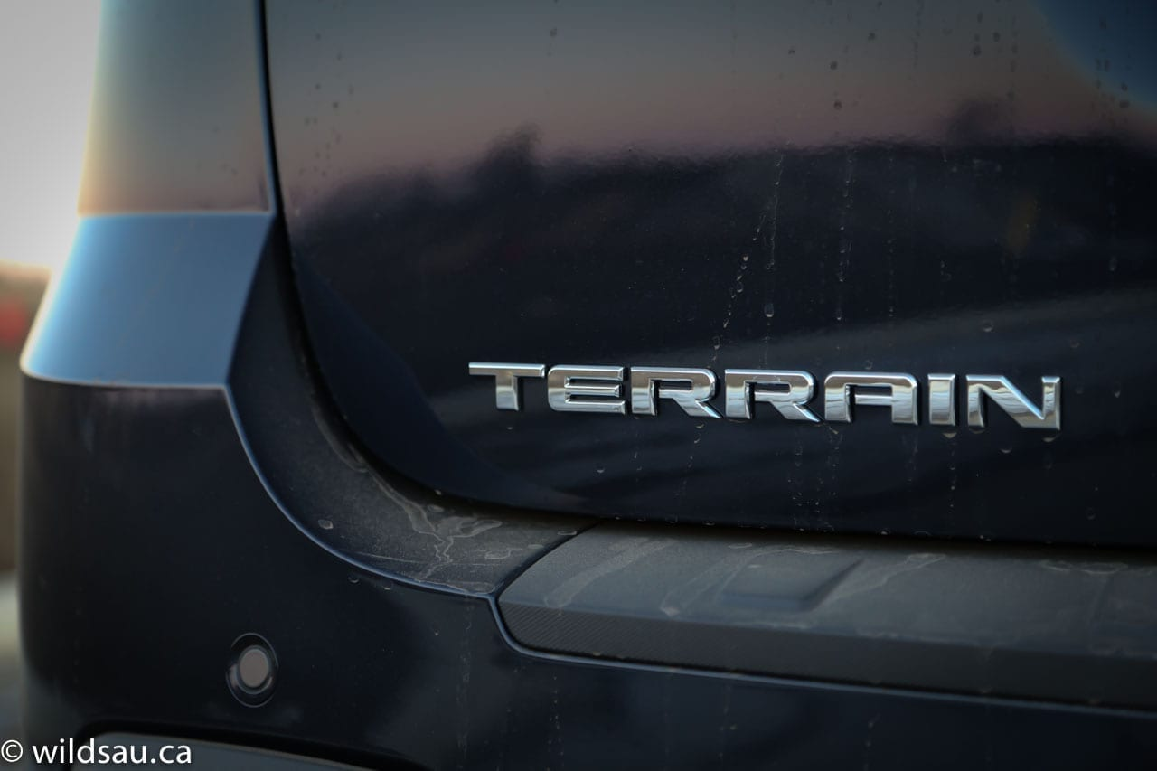 terrain badge