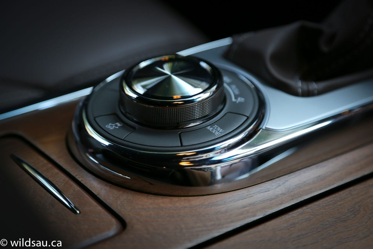 drive mode dial