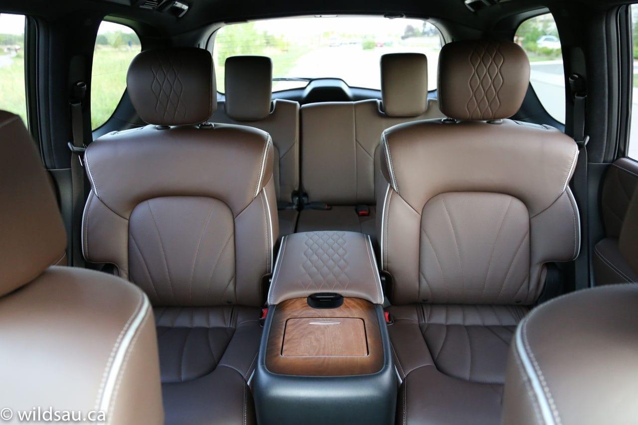interior toward back