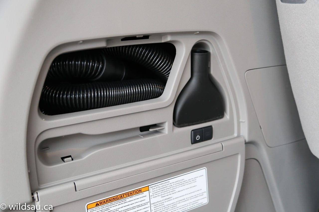 Honda Vac inside