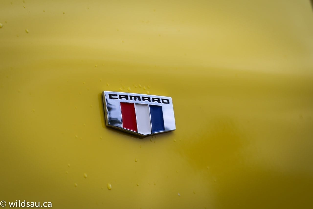 camaro badge