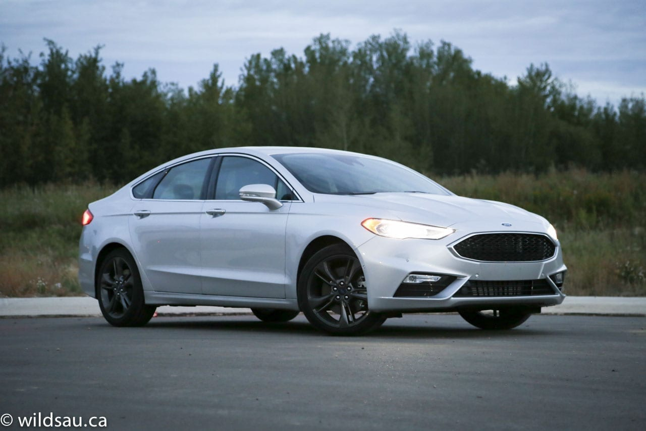 Cool Review 2017 Ford Fusion Sport  Wildsauca